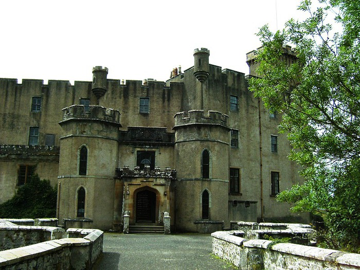 Замок Данвеган (Dunvegan castle) 77422