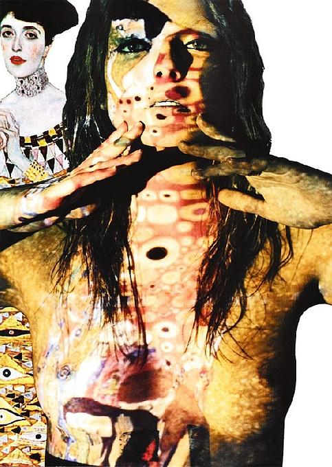 Модель Энико Михалик разделась для картин художника Густава Климта