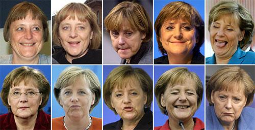 смайлик - отличный символ эмоций в интернете ангела меркель германия