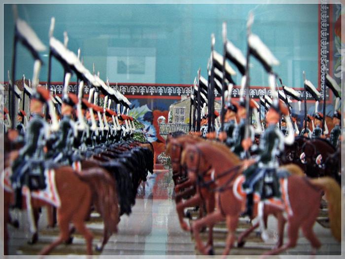 Оловянная армия, музей истории города, Дюссельдорф