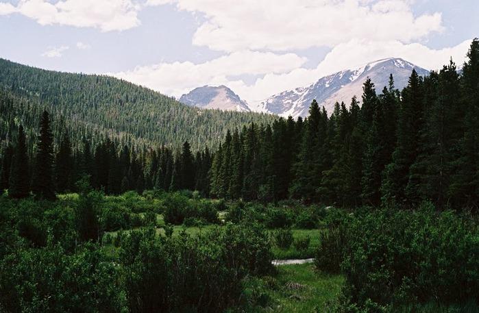 Национальный парк Rocky Mountain 12392
