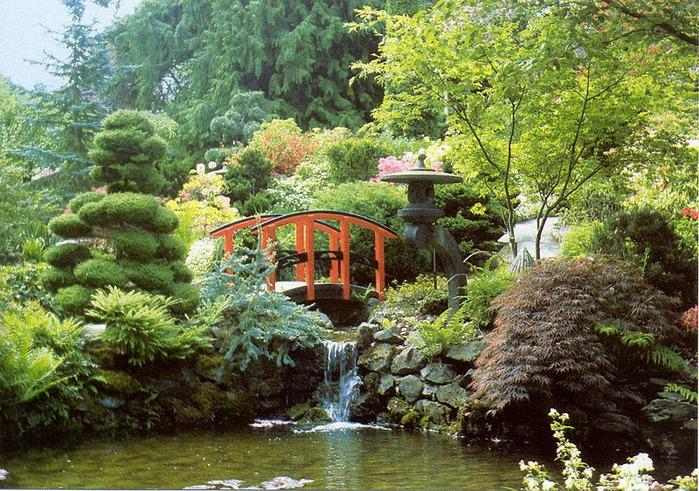 Сады Бучартов на острове Ванкувер. The Butchart Gardens. 30429