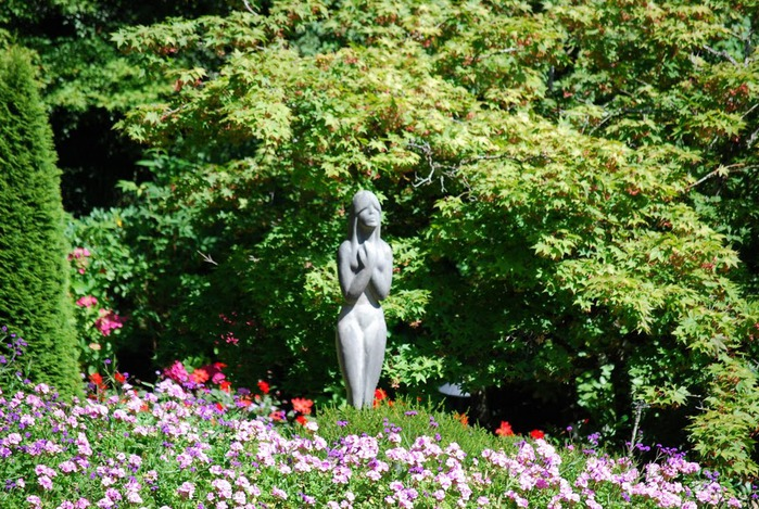 Сады Бучартов на острове Ванкувер. The Butchart Gardens. 72351
