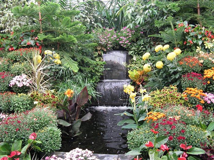 Сады Бучартов на острове Ванкувер. The Butchart Gardens. 11134