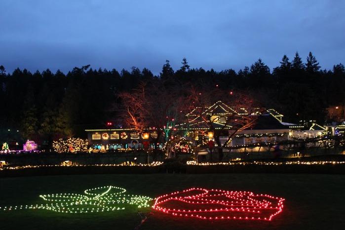 Сады Бучартов на острове Ванкувер. The Butchart Gardens. 29830