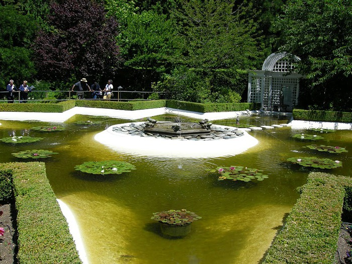 Сады Бучартов на острове Ванкувер. The Butchart Gardens. 67461