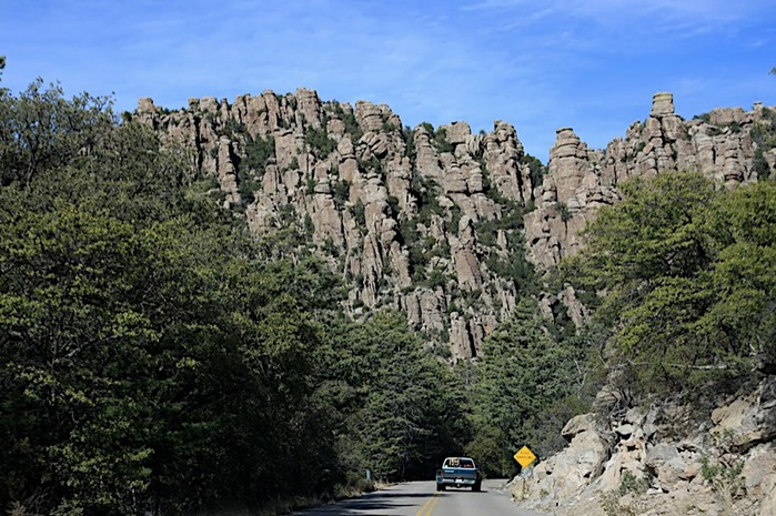 Аризона: Парк 'Chiricahua' - CHIRICAHUA NATIONAL MONUMENT 59923