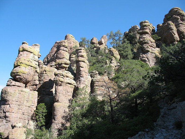 Аризона: Парк 'Chiricahua' - CHIRICAHUA NATIONAL MONUMENT 26466