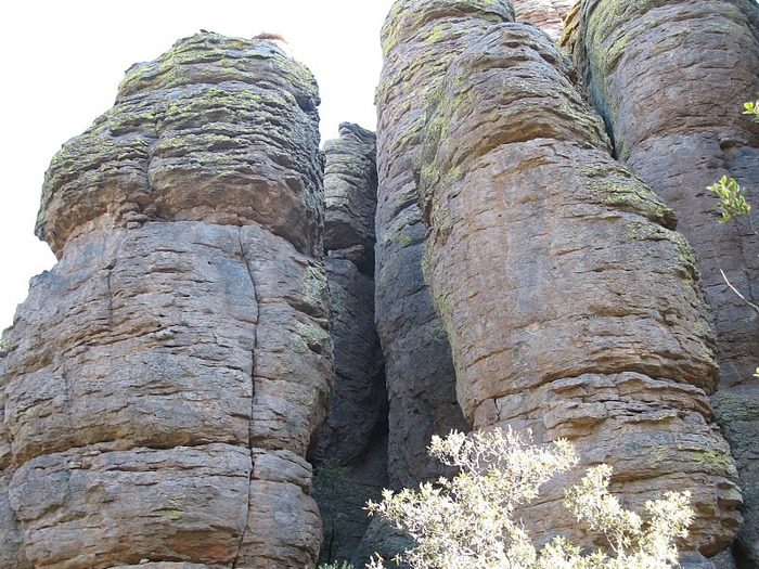 Аризона: Парк 'Chiricahua' - CHIRICAHUA NATIONAL MONUMENT 77380