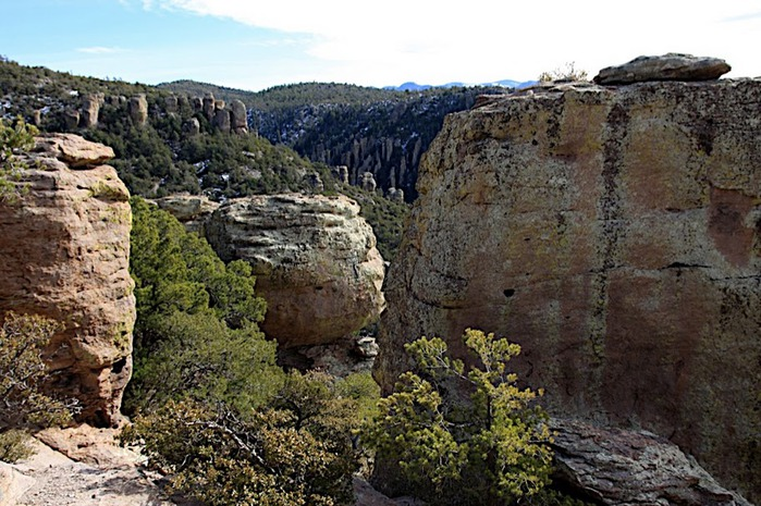 Аризона: Парк 'Chiricahua' - CHIRICAHUA NATIONAL MONUMENT 81494