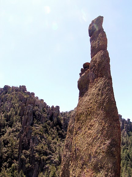 Аризона: Парк 'Chiricahua' - CHIRICAHUA NATIONAL MONUMENT 65438