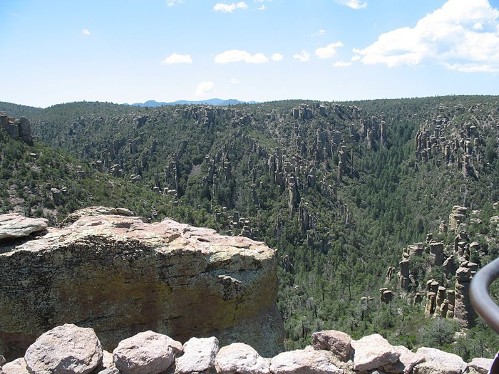 Аризона: Парк 'Chiricahua' - CHIRICAHUA NATIONAL MONUMENT 23794