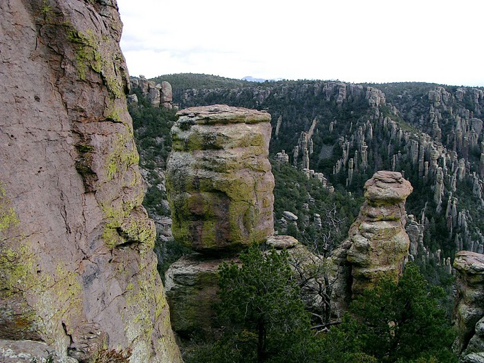 Аризона: Парк 'Chiricahua' - CHIRICAHUA NATIONAL MONUMENT 74874