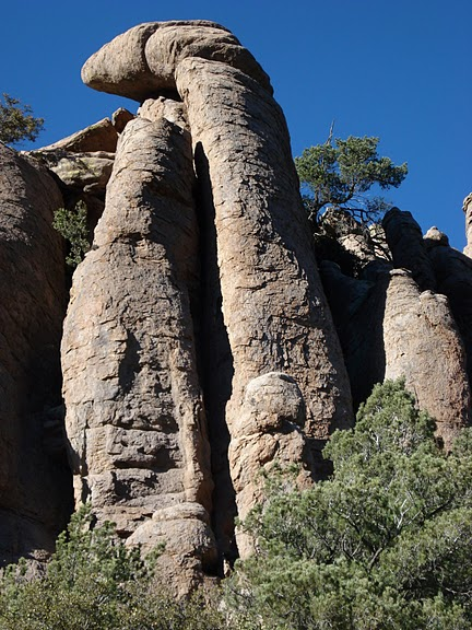 Аризона: Парк 'Chiricahua' - CHIRICAHUA NATIONAL MONUMENT 76835