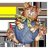 линейка кот с клубком (100x100, 24 Kb)