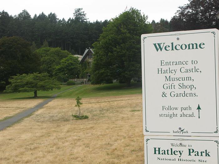 Замок Хэтли - Замок Hatley. 78978