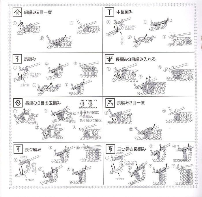 钩针:30种桌巾垫 - maomao - 我随心动