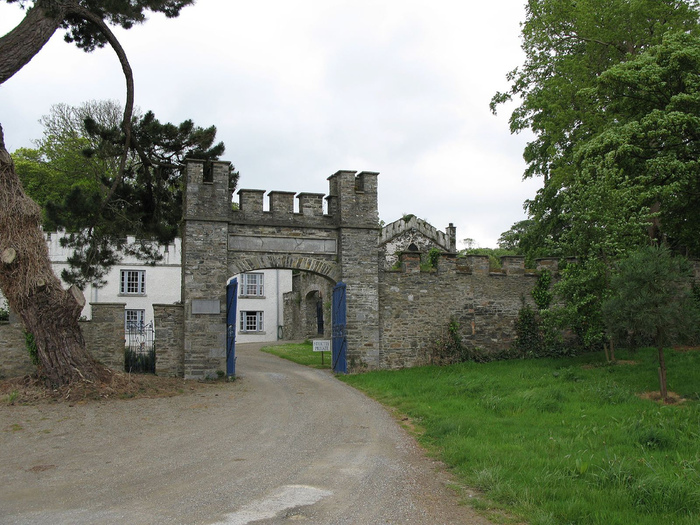 Замок Глайн (Glin Castle) графство Лимерик 48983