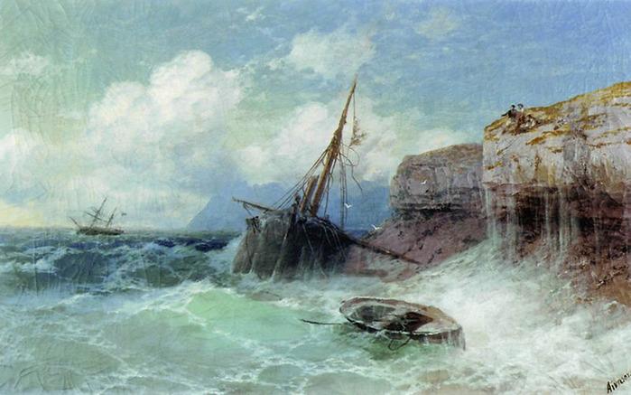 """""""Сошествие Ноя с Арарата"""" 1889"""