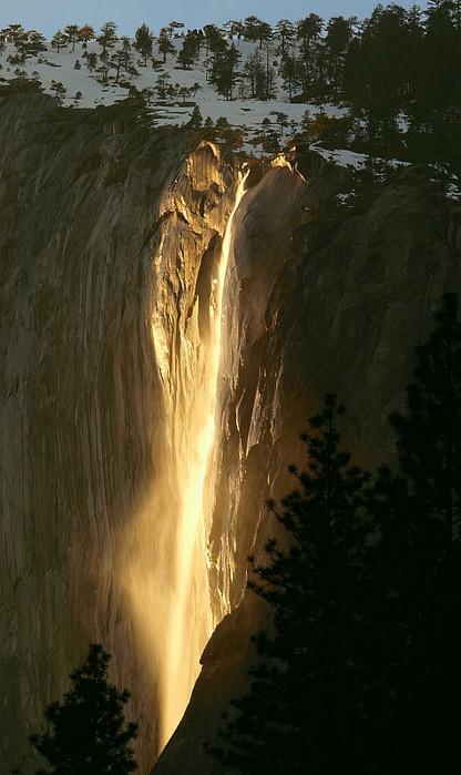 огненный водопад лошадинный хвост