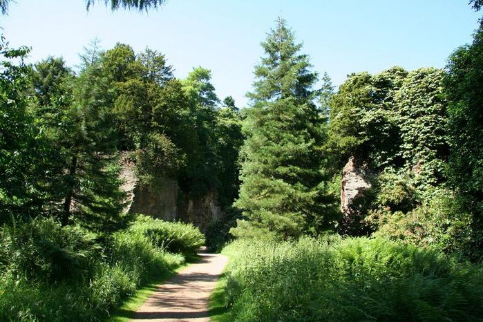 Замок Белси (Belsay Castle) 75952