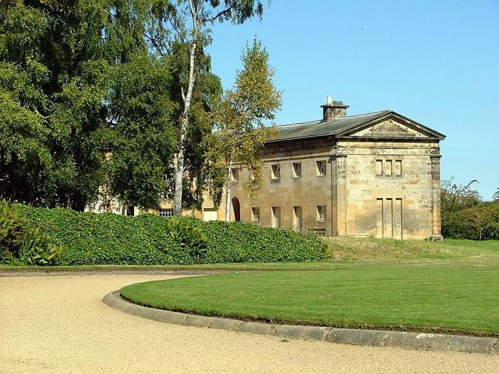 Замок Белси (Belsay Castle) 58606