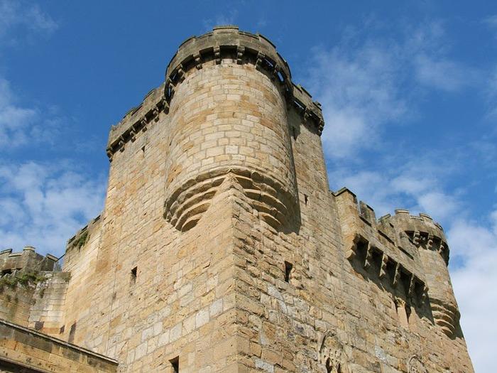 Замок Белси (Belsay Castle) 68901