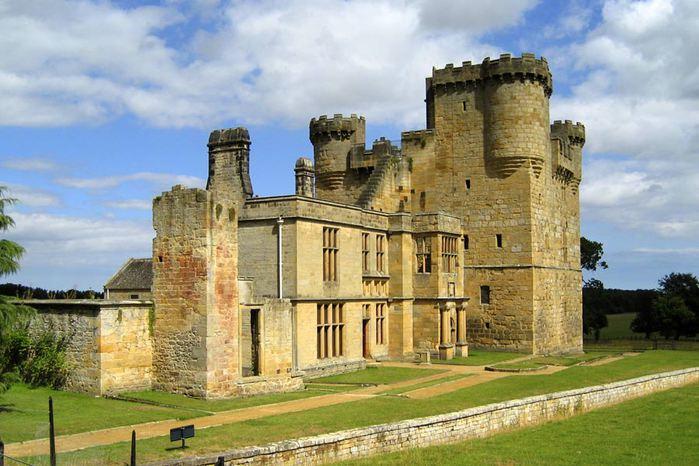 Замок Белси (Belsay Castle) 48229
