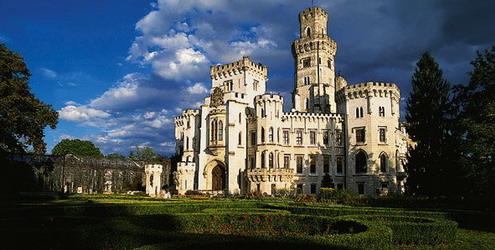 Замок Глубока-над-Влтавой,