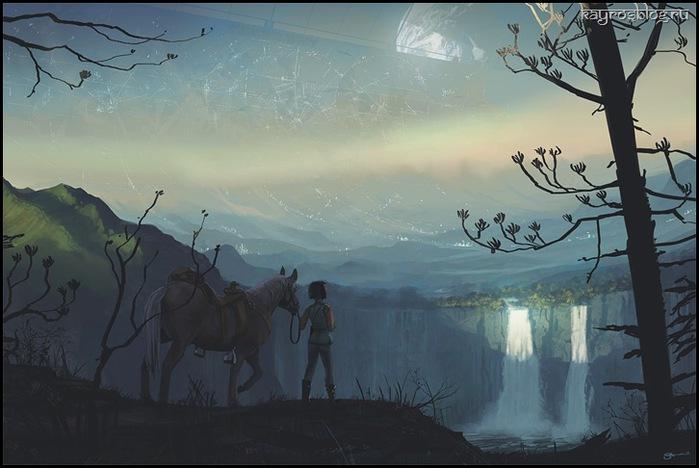 Цифровые художники рисуют цифровые картины