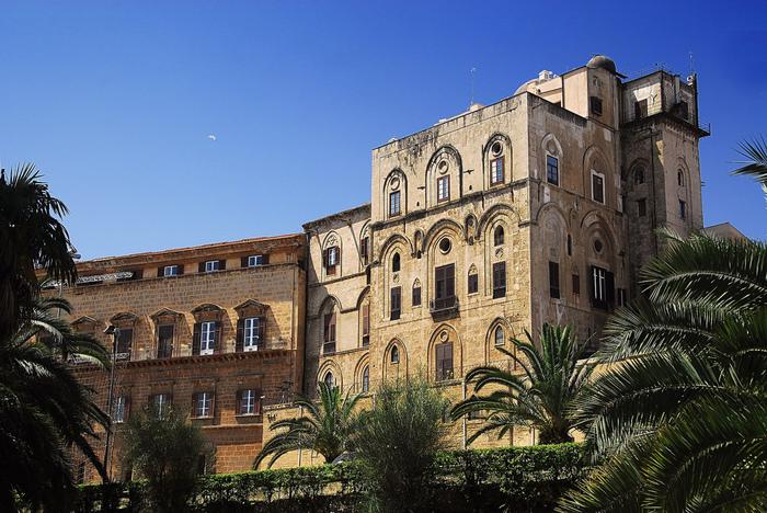 Палаццо Норманни или Палаццо Реале-Palazzo dei Normanni- Норманнский дворец 23542