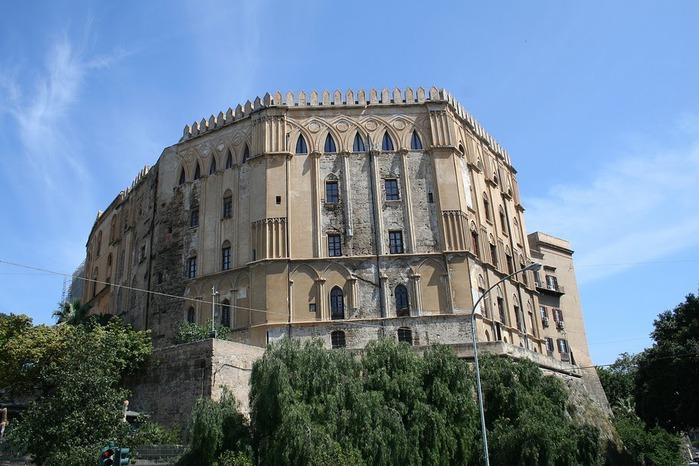 Палаццо Норманни или Палаццо Реале-Palazzo dei Normanni- Норманнский дворец 17198