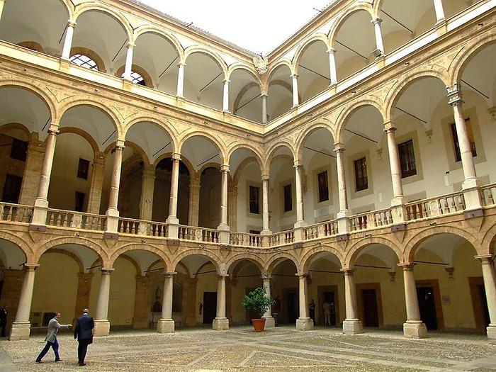 Палаццо Норманни или Палаццо Реале-Palazzo dei Normanni- Норманнский дворец 74013