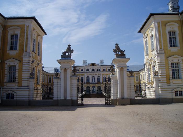 Rundales Castle - Рундальский дворец 28347