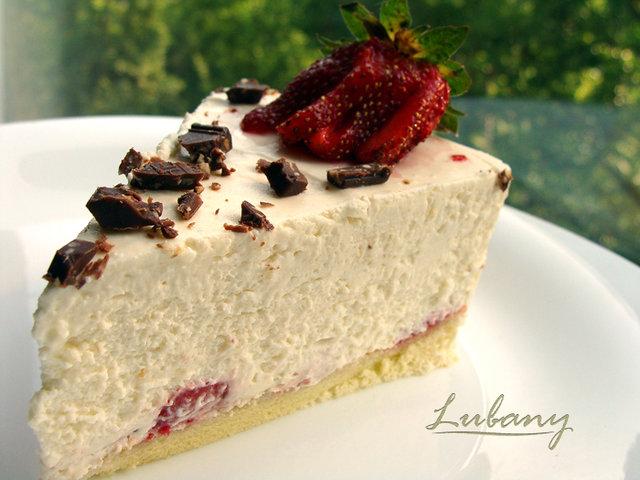 Рецепт торта Клубнично-Творожный