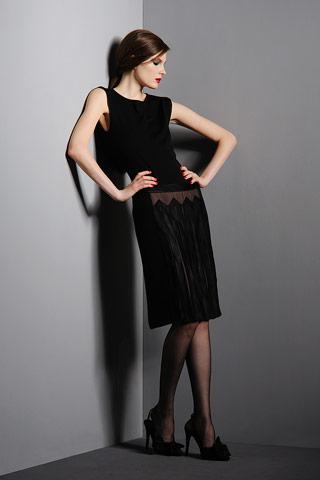 Черные платья от кутюрье