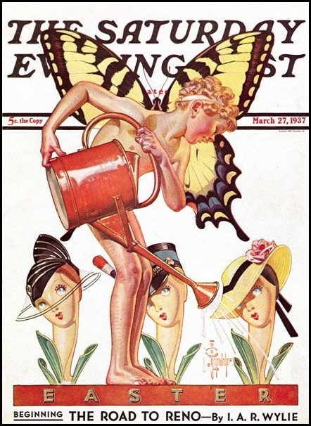 Гениальный североамериканский иллюстратор Джозеф Кристиан Лейендекер (Joseph Christian Leyendecker)
