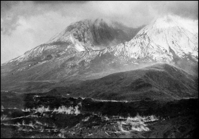 Извержение горы Святой Елены 30 лет назад.