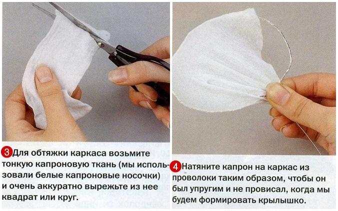 Мастер класс по изготовлению бабочек