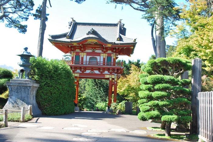 Японский чайный сад -(Hakone Japanese Tea Garden) 76427