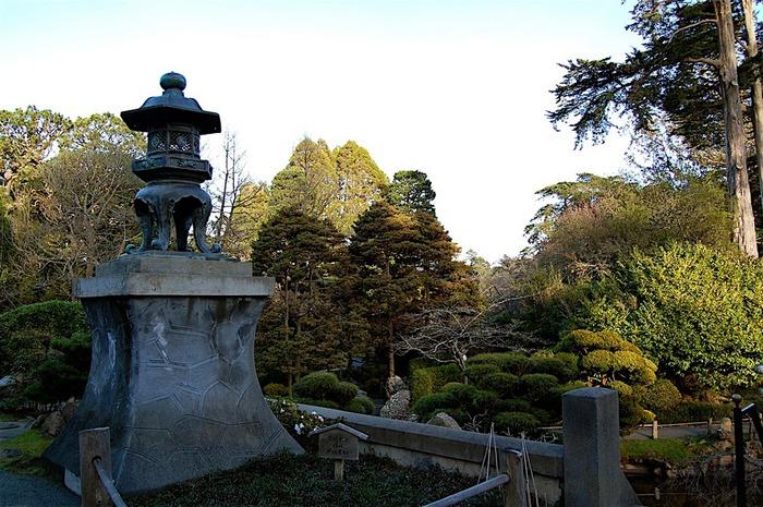 Японский чайный сад -(Hakone Japanese Tea Garden) 19185