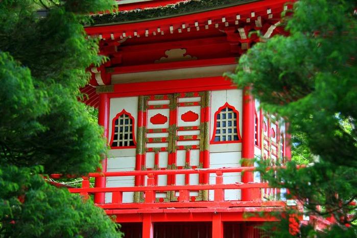Японский чайный сад -(Hakone Japanese Tea Garden) 14839
