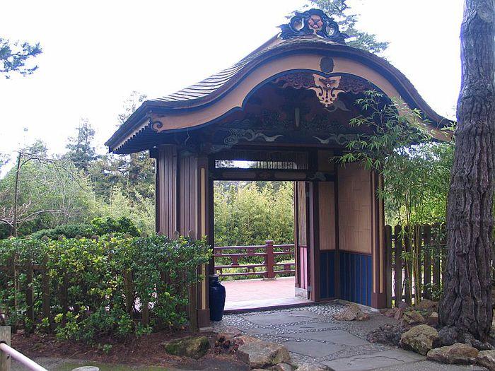 Японский чайный сад -(Hakone Japanese Tea Garden) 73297