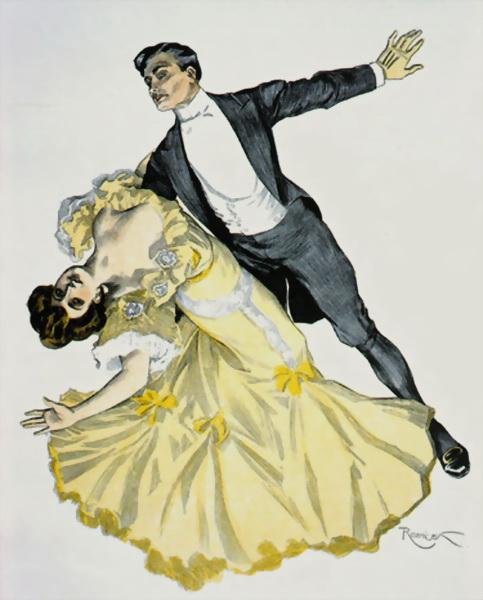 Вальс – бальный танец
