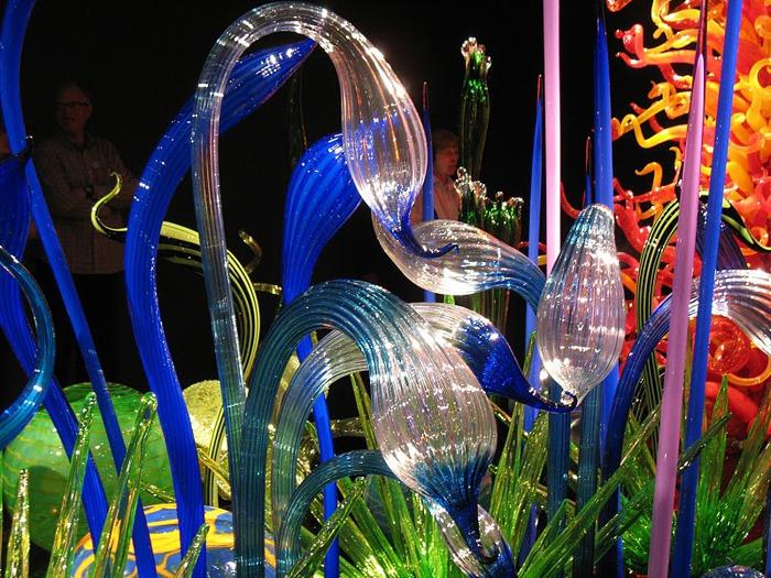 Музей изящных искусств (De Young Museum) -коллекция Dale Chihuly Glass Exhibit 57693
