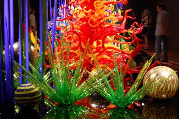 Музей изящных искусств (De Young Museum) -коллекция Dale Chihuly Glass Exhibit 95273