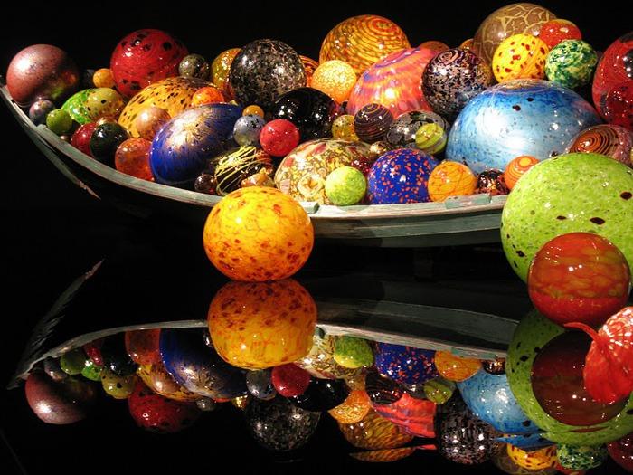 Музей изящных искусств (De Young Museum) -коллекция Dale Chihuly Glass Exhibit 75985