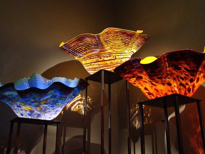 Музей изящных искусств (De Young Museum) -коллекция Dale Chihuly Glass Exhibit 37386