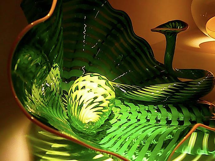 Музей изящных искусств (De Young Museum) -коллекция Dale Chihuly Glass Exhibit 21395