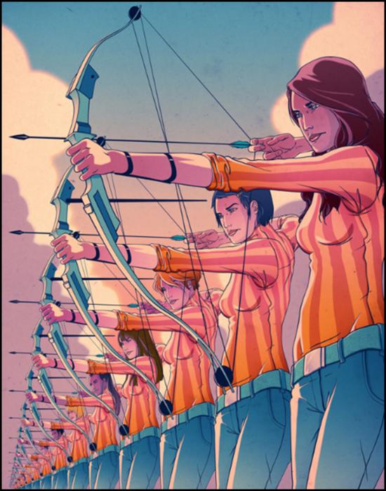 Иллюстратор Гони Монтес (Goni Montes)